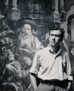 Hyman Bloom, 1954 (Photo by Nicholas Dean)