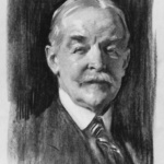"John Singer Sargent, Portrait of Dr. Denman Ross, 1917.  Charcoal on paper, 23"" x  19"", Museurn of Fine Arts, Boston, Gift of the Committee on the Museum 17.3175."